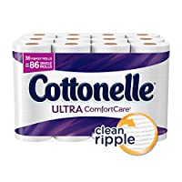 Cottonelle Ultra ComfortCare Family Roll Toilet Paper, Bath Tissue, 36 Rolls by Cottonelle