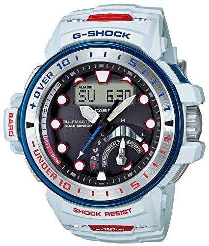 カシオ CASIO 腕時計 G-SHOCK ジーショック ガルフマスター ラブザシーアンドジ アース 電波ソーラー GWN-Q1000K-7AJR