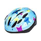 ヘルメット 子供用 EletecPro 自転車 ヘルメット キッズ 幼児 軽量 スポーツヘルメット 45~54cm 通学 スキー 登山 バイク スケートボードなど適用 (ブルー)