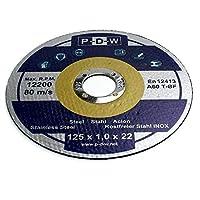 30 INOXカッティングディスク直径125 mm   125 x 1.0 mm  アングルグラインダー用│(パック