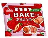 森永製菓 ベイク<あまおう苺味> 10粒×12個
