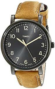 [タイメックス]TIMEX [タイメックス]TIMEX モダンイージーリーダー ブラックオイルドレザー T2N677 【正規輸入品】 T2N677  【正規輸入品】