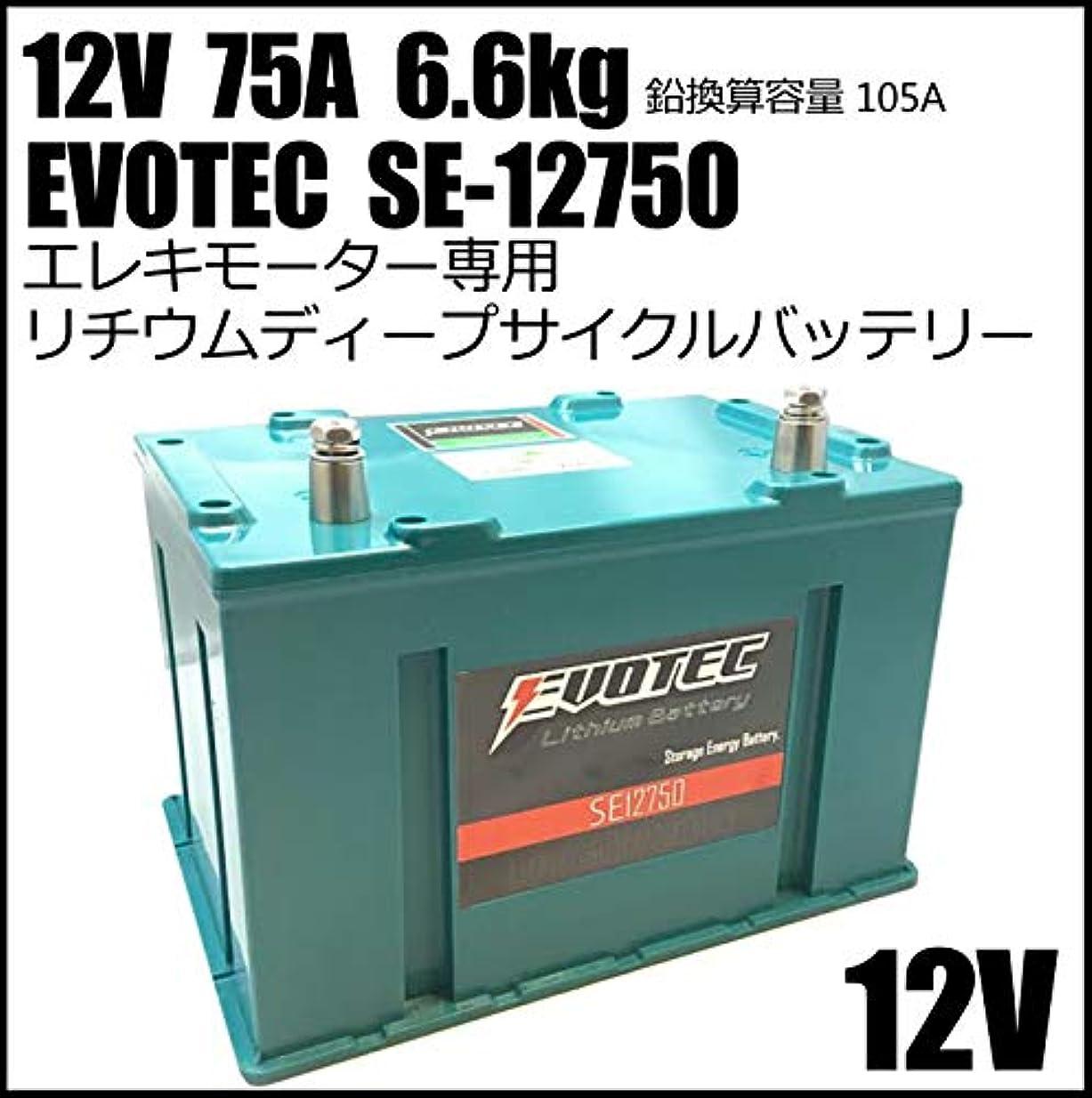 スポーツの試合を担当している人コテージスロベニア12V 75A リチウムディープサイクルバッテリー SE-12750 EVOTEC/エヴォテック.