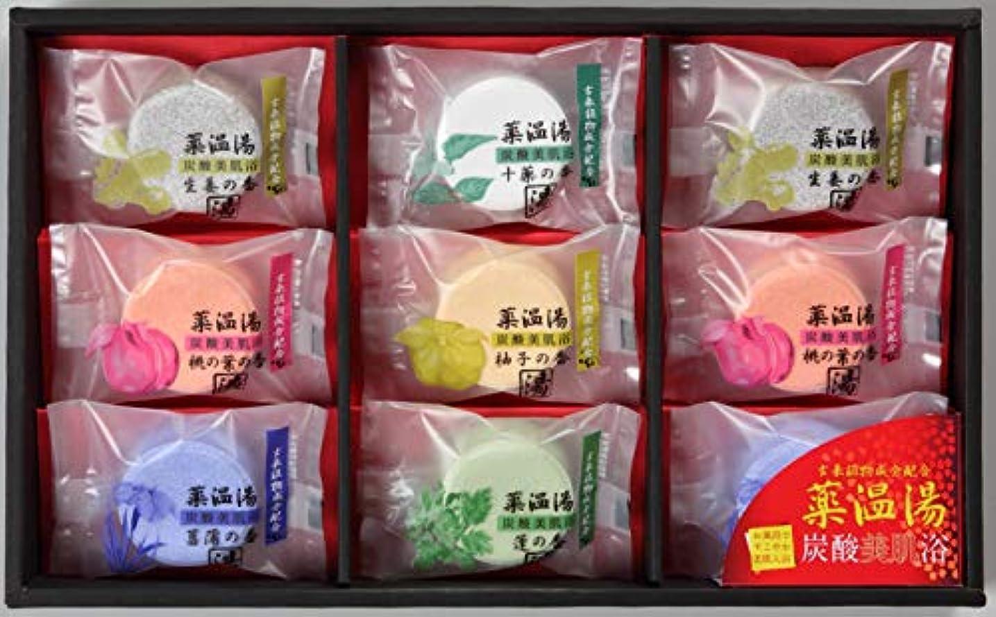風邪をひく些細調べる薬温湯 炭酸美肌浴セット POD-15