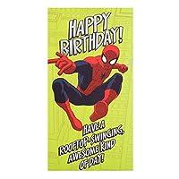 スパイダーマンHappy誕生日カード