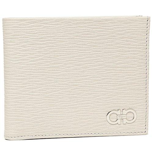 [フェラガモ] 二つ折り財布 メンズ Salvatore Ferragamo 66A065 0685983 ホワイト [並行輸入品]