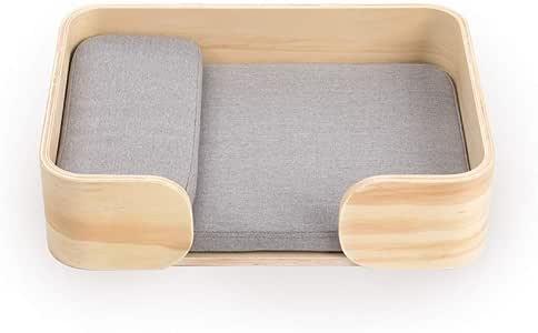pidan ピダン 猫 ベッド レクタングル 洗える 木製