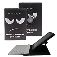 "Tsmine 360度回転ケースキーボードfor Apple / Samsung / HP / Acer / Asus / Lenovo / LG 9.6"" - 10.1"" Tablets BKB-10W-BPW360-10-1H+TY"