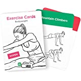 EXERCISE CARDS – Premium Visual Bodyweight Workout Cards by WorkoutLabs · Waterproof Fitness Flash Cards for Home Workouts without Equipment (Women) …
