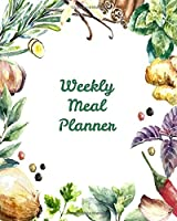 Weekly Meal Planner: 60-week Menu Planner: Weekly Food Planner and Organizer With Grocery List and Blank Recipe Pages 8x10