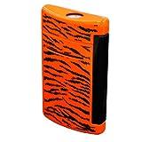 S.T.Dupont (エス・テー・デュポン) ライター 010073 MINIJET ミニジェット タイガー柄 オレンジ×ブラック 電子ガス ターボライター [正規品]