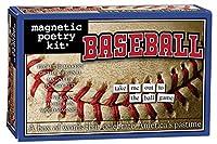 [マグネティックポエトリー]Magnetic Poetry Baseball Kit Words for Refrigerator Write Poems and Letters on the Fridge [並行輸入品]