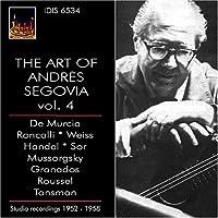 Art of Andres Segovia: Studo Recordings 1952-1958