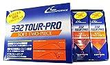 CONFIDENCE(コンフィデンス) ゴルフボール 332 TOUR PRO OR(1ダース12個入り) オレンジ