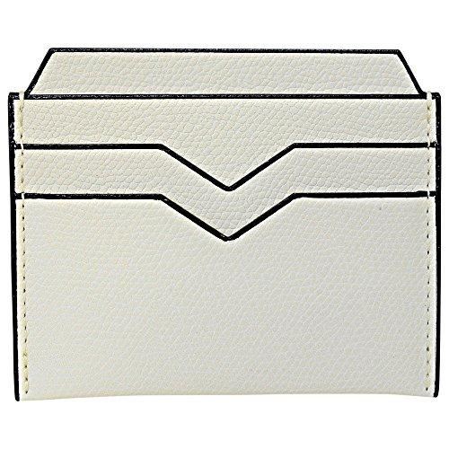 (ヴァレクストラ)VALEXTRA Valextra ヴァレクストラ カードケース クレジット カードホルダー 両面 V8L77 028 W PERGAMENA ホワイト グレインレザー 無地柄 革 メンズ レディース [並行輸入品]