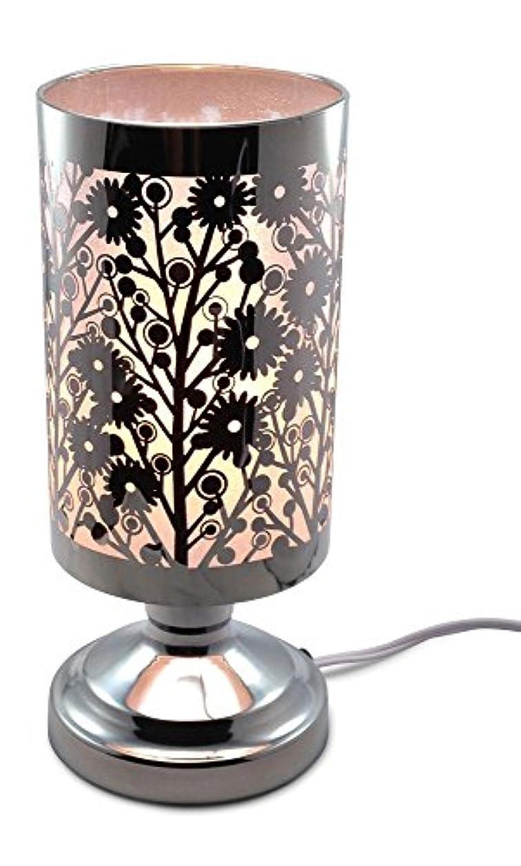 交換処理混合WildflowersレーザーカットステンレススチールElectric touch-controlled Fragranceランプ無料交換ハロゲン電球