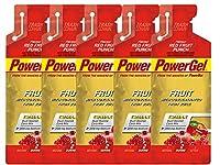 【PowerGel】パワージェル フルーツ レッドフルーツパンチ 5個セット