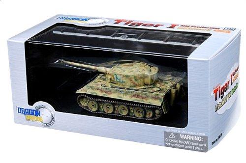 1:72 ドラゴンモデルズ アーマー コレクター シリーズ 60416 Henschel Sd.Kfz.181 Tiger ディスプレイ モデル ドイツ軍 1./sPzAbt 101 LAH #131