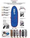 """トランスポーター レトロミニ ボードケース 5'8"""" TRANSPORTER MINI CASE 5'8"""" ハードケース サーフボードケース 58 (シルバー)"""