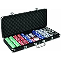 Poker Chip Case Aluminum Version with 500 Chips 【直輸入品】