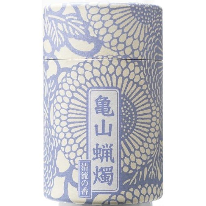 フライト霊貫入和遊 10分蝋燭(清流の香) 約116本