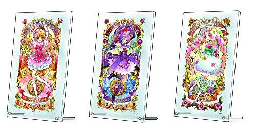 魔法つかいプリキュア JEWEL PORTRAIT アートボード 3種セット