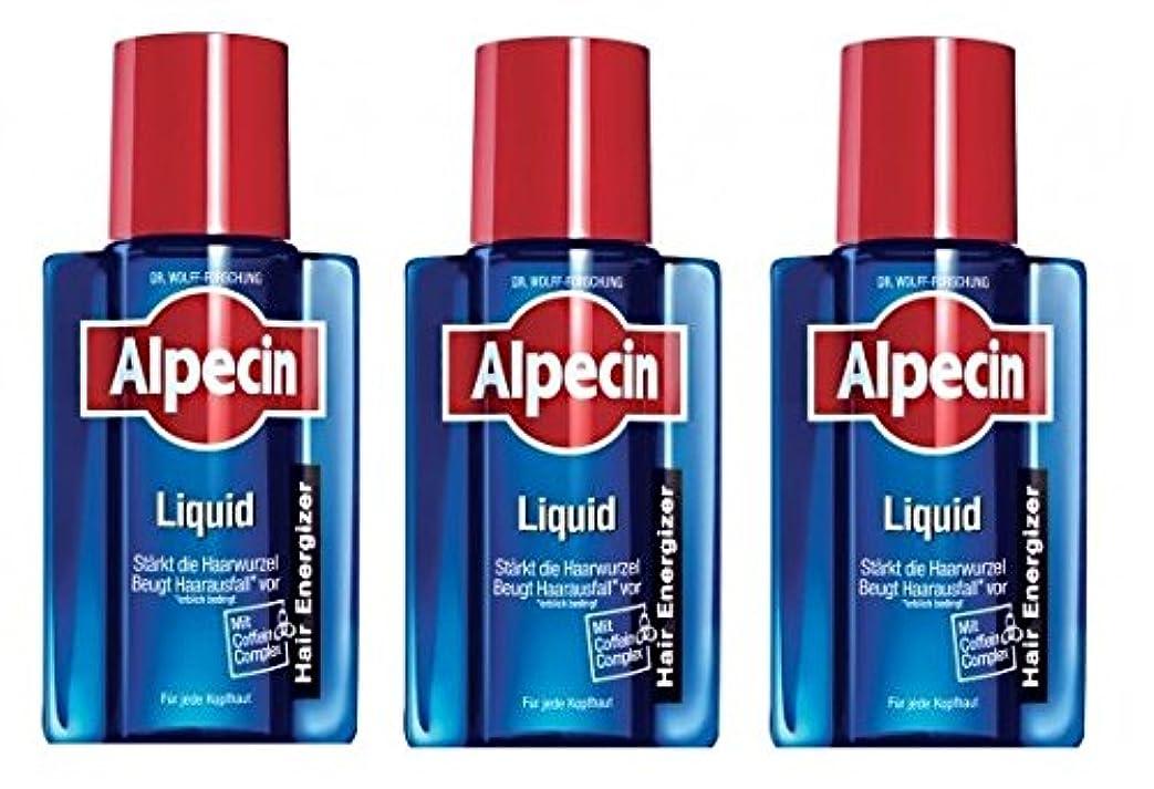 3本まとめ買い ALPECIN オーガニックシャンプー アフターシャンプーリキッド 200ml [並行輸入品]