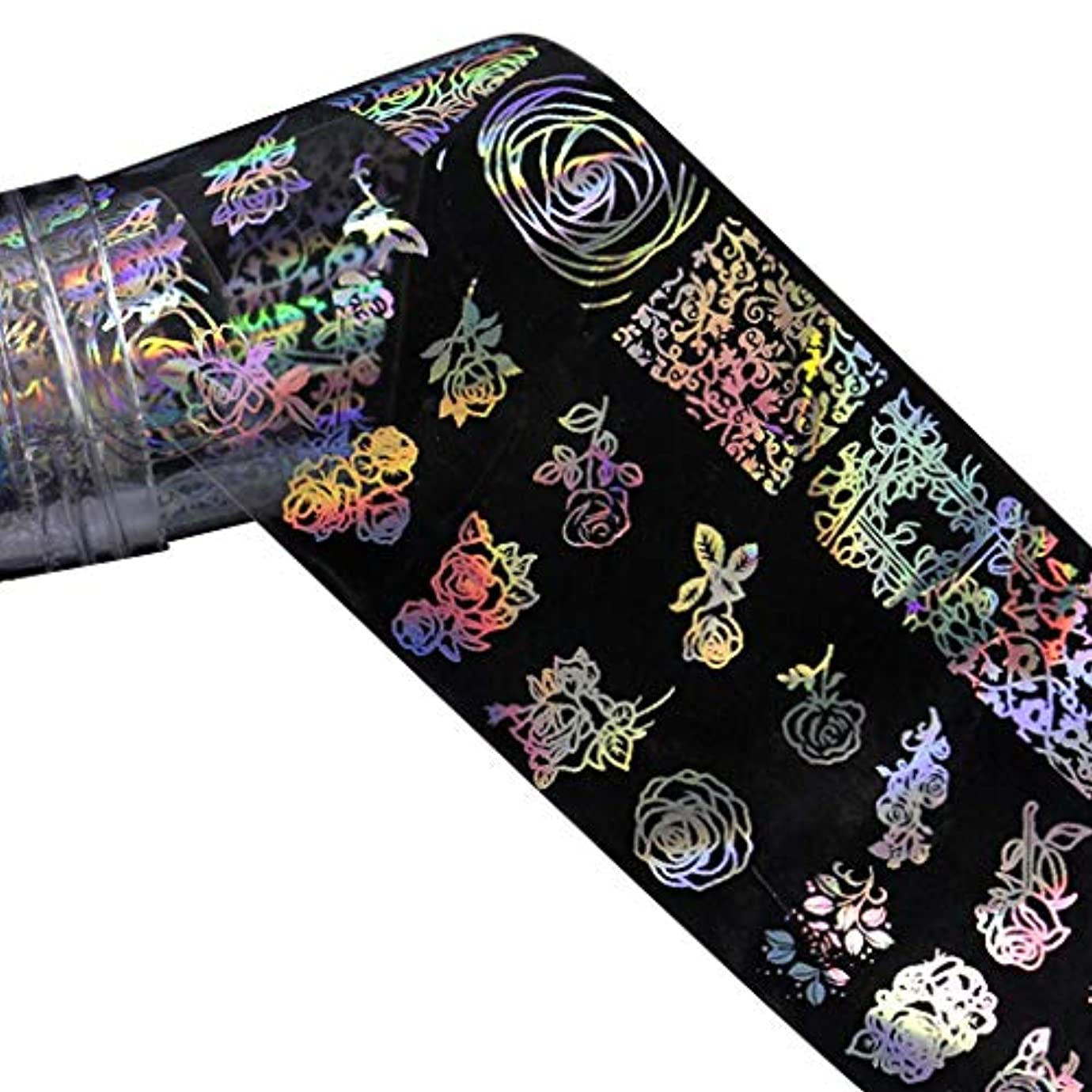 アーサー天気のれんNerhaily ヨーロッパ風格 ネイルホイル ネイルシール ウォーターネイルシール 爪に貼るだけ ネイルデコレーション 全10種類 ロールネイルシール