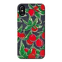 (ティアラ) Tiara Android One X1 ケース TOMATO トマト 野菜 薄型 スマホ ハードケース トマト B SHARP C002703_02