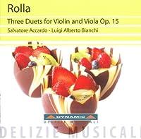 Rolla: Three Duets for Violin & Viola, Op.15 (2011-05-24)