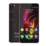 OUKITEL C5 PRO スマートフォン4G FDD-LTE Phone 5.0インチ 720*1280 MTK6737 クアッドコア 1.3GHz CPU Android 6.0 OS 2GB RAM 16GB ROM デュアルSIM GPS OTA KKmoonスタンドつき 国内用充電器つき
