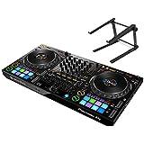 PIONEER DJコントローラーセット / DDJ-1000 + PCスタンド