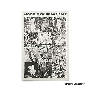 ムーミン 2017年 カレンダー 壁掛け NH005