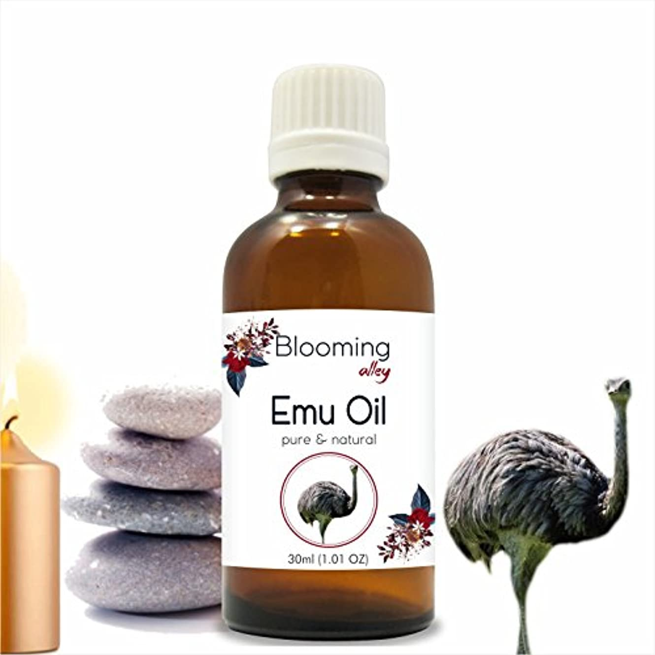 微生物重要性協力Emu Oil 30 ml or 1.0 Fl Oz by Blooming Alley