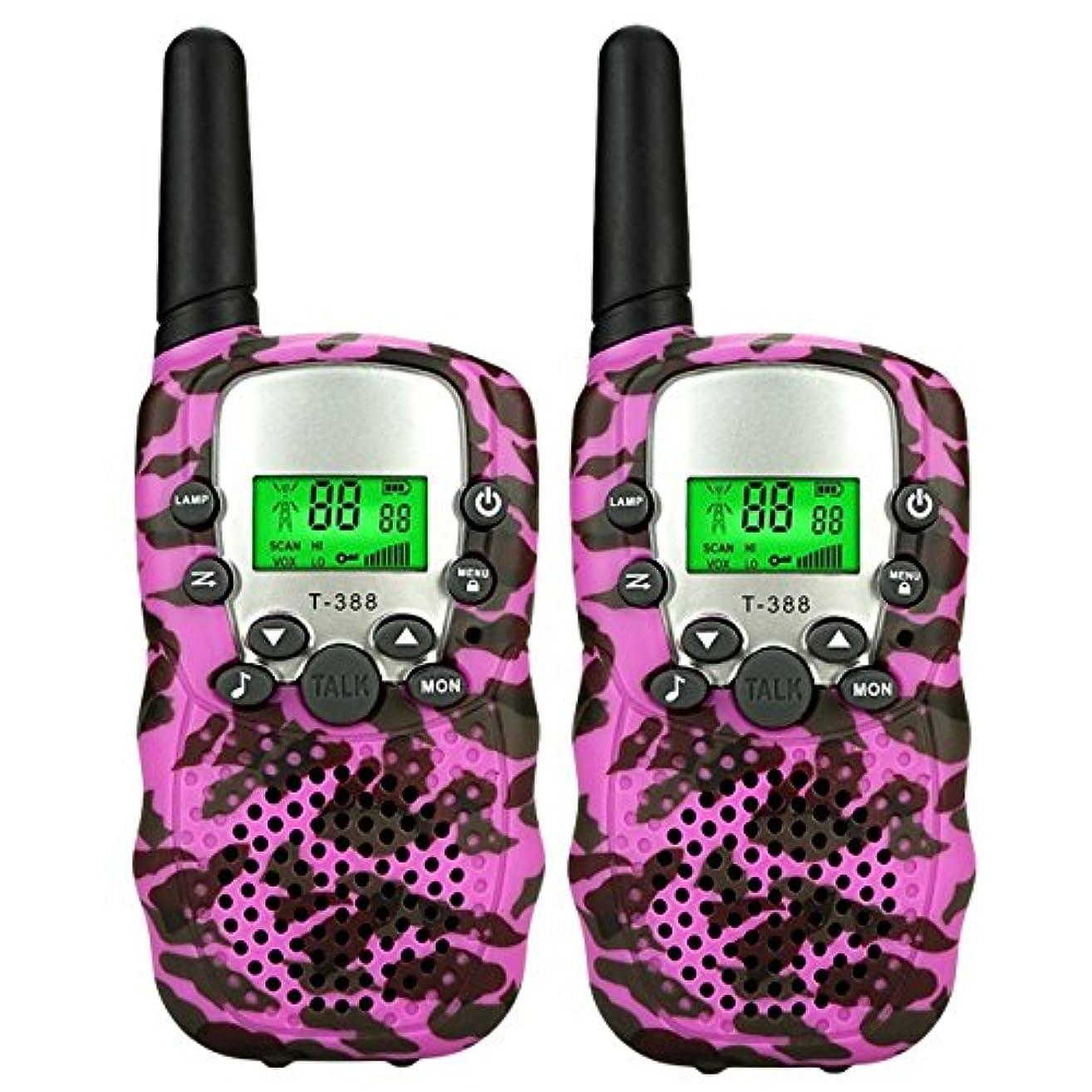 高原バックアップ呼吸TISY ロングレンジ双方向無線機 T38M - 最高の選択 ピンク