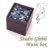 スタジオジブリ 魔女の宅急便 ステンドグラス風BOXオルゴール