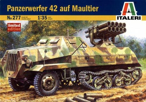 タミヤ イタレリ 1/35 ミリタリーシリーズ 0277 オペル マウルティーア 42年式 ロケット砲搭載型 39277