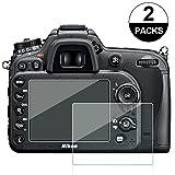 Awinner 2枚入り 液晶保護フィルム Nikon D7100 D7200 D800 D600 D610 アクションカメラ 専用 スクリーン保護シート 液晶フィルム