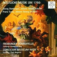Sacred Music from Around 1750