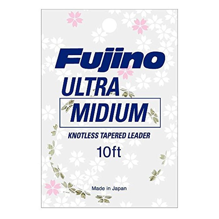 イタリックかろうじてアルファベットFujino(フジノ) ウルトラミディアムリーダー 10ft 7X