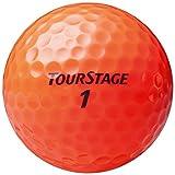 BRIDGESTONE(ブリヂストン) ゴルフボール ツアーステージ エクストラディスタンス 1ダース(12球入り) オレンジ TEOX