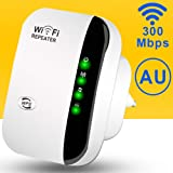 WiFi Range Extender,300Mbps Wireless Repeater 2.4G Internet WiFi Signal Booster Amplifier Supports Repeater/AP, 2.4G Network