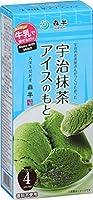 共栄製茶 森半 抹茶アイスの素 (17g×4P)×3個
