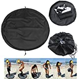 Unknown Change Mat Wet Bag - Wetsuit Change Mat - Nylon 90cm Surfing Wetsuit Suit Change Bag Mat Waterproof Bag Carry Pack Pouch (Surfing Changing Mat)