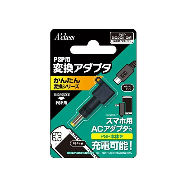 PSP用変換アダプタ【かんたん変換シリーズ mi...の商品画像