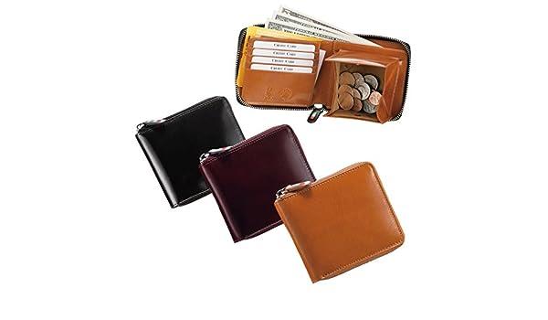 2ca136350e29 Amazon | 財布 二つ折り メンズ 革 小銭入れ付き オリーチェラウンドファスナー二つ折りウォレット 69474(ゴールド) | 財布