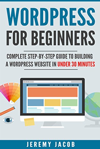 amazon wordpress 2018 wordpress for beginners complete step by
