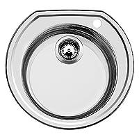 Blanco 円形 楕円形 ステンレススチール シンク つや消し仕上げ