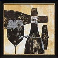 North American Art Wine Selection I Framed Art [並行輸入品]