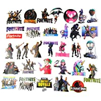 Fortnite フォートナイト ステッカー ノートパソコン用フォンタナステッカー(50個)、子供用、男の子用、大人用、パッケージ、車、スケートボード用フォンナイトギフト